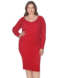 Red Casual Plus Size Dresses - Macy\'s