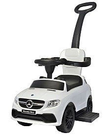 Best Ride On Cars Licensed 3 In 1 Mercedes Push