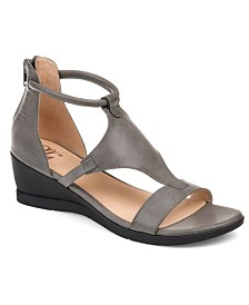 Journee Collection Women's Trayle Sandal Wedges