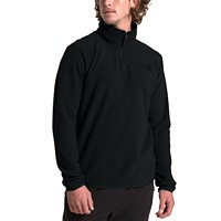 Deals on The North Face Mens TKA Glacier Quarter-Zip Fleece Pullover