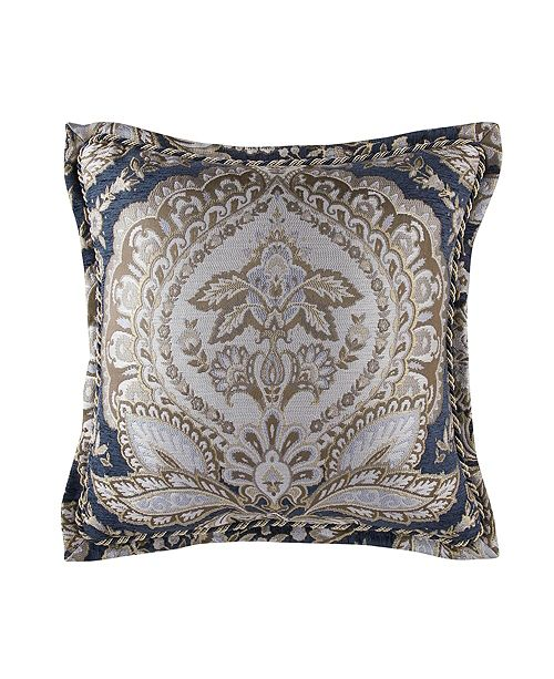 "Croscill Valentina 18"" x 18"" Square Pillow"