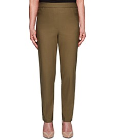 Cedar Canyon Stretch Straight-Leg Pull-On Pants