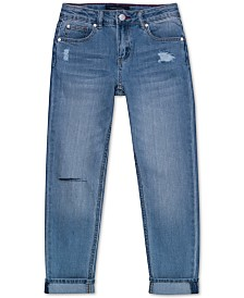 Tommy Hilfiger Big Girls Ripped Jeans