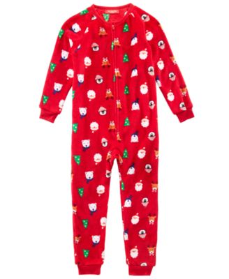 Matching Kids Santa and Friends Pajamas, Created for Macy's