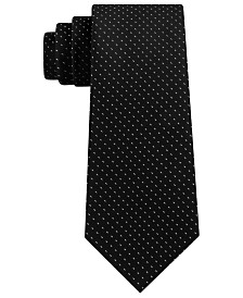 Kenneth Cole Reaction Men's Veloutine Pick Stitch Tie