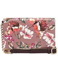 Nine West Floral Meadows Wallet On A String