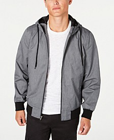 Men's Zip-Front Hooded Jacket, Created for Macy's