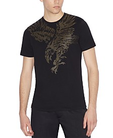 A|X Armani Exchange Men's Logo Eagle Graphic T-Shirt