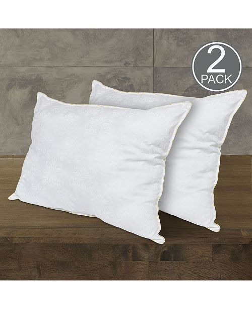 Rio Home Fashions 2 Pack Downtown Hotel Manor Victoria Pillow Collection