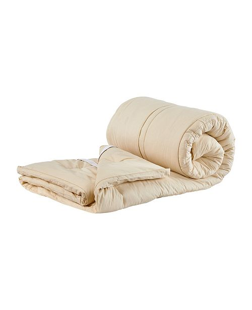 "Sleep & Beyond Mymerino, Organic Merino Wool Mattress Topper, Twin, 1.5"" Thick"