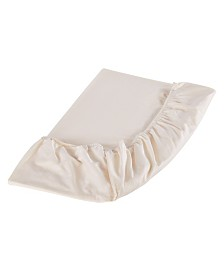 Organic Cotton Fitted Sheet, Twin