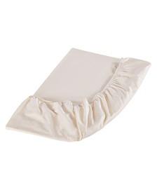 Sleep & Beyond Organic Cotton Fitted Sheet, Twin