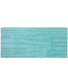 "Affinity Linens Super Soft Reversible Textured Oversized 22"" x 60"" Bath Rug"