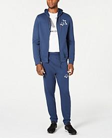Men's Zip-Front Hoodie & Drawstring Joggers