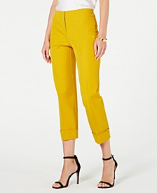 Cuffed Ankle Pants, Created for Macy's