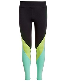 Big Girls Colorblocked Leggings, Created for Macy's