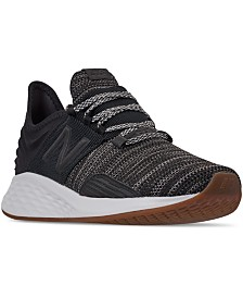 New Balance Men's Fresh Foam Roav Knit Running Sneakers from Finish Line