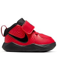 Toddler Boys Team Hustle D 9 Stay-Put Basketball Sneakers from Finish Line