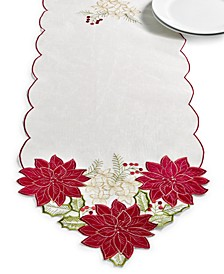 "Kori Holiday Cutwork 14"" x 72"" Runner"