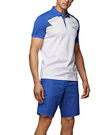 BOSS Men's Paddy Pro 1 Moisture-Wicking Polo Shirt