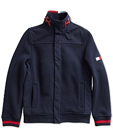 Tommy Hilfiger Adaptive Little Boys Heritage Sweater with Magnetic Buttons