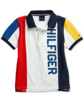 Tommy Hilfiger Boys Classic Fit Mesh Polo Shirt