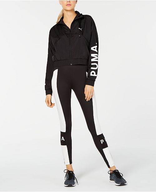 Puma Cropped Jacket & Leggings