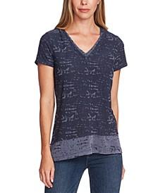 Layered-Look T-Shirt