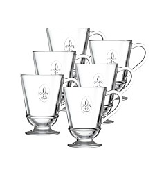 La Rochere Fleur De Lys 9-ounce Coffee Cups, Set of 6