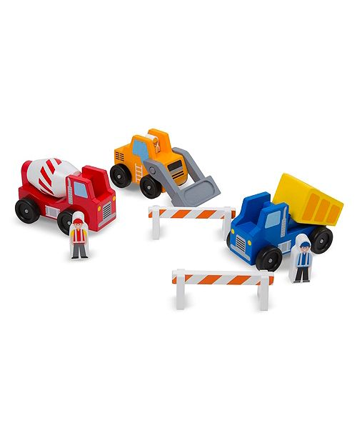 Melissa and Doug Construction Vehicle Set