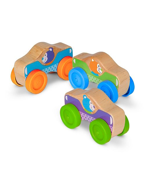 Melissa and Doug Animal Stacking Cars