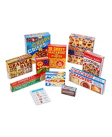 Melissa and Doug Let's Play House Grocery Shelf Boxes