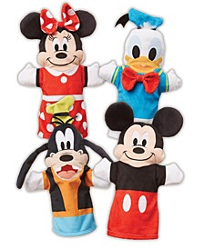 Mickey Mouse  Friends Soft & Cuddly Hand Puppets