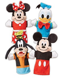 Melissa and Doug Mickey Mouse  Friends Soft & Cuddly Hand Puppets
