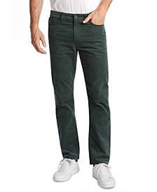 Men's Classic-Fit Straight Leg Corduroy Pants
