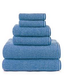 American Dawn Hyped Gratzee Mingled 6 Piece Bath Towel Set