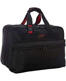 "21"" Expandable Soft Carry on Suitcase"