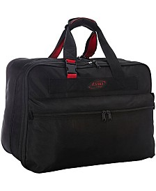 "A. Saks 21"" Expandable Soft Carry on Suitcase"