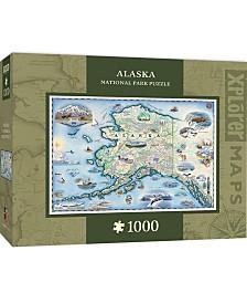 Masterpieces Alaska 1000 Piece Xplorer Map Puzzle