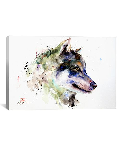 "iCanvas Wolf by Dean Crouser Wrapped Canvas Print - 18"" x 26"""