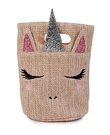 OMG! Accessories Unicorn Mini Straw Bag