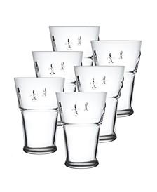 La Rochere Fleur De Lys 13-ounce Beer Glass, Set of 6