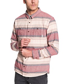 Quiksilver Men's Inca Gold Stripe Shirt
