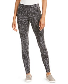 Snake-Print Jeggings, Created for Macy's