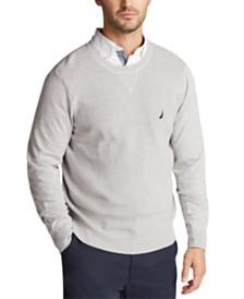 Nautica Men's Navtech Solid Sweater