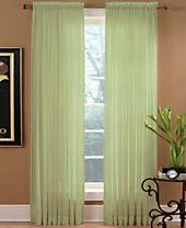 """Miller Curtains Sheer Preston Rod Pocket 51"""" x 95"""" Panel"""