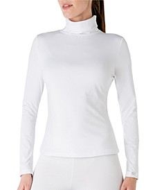 Women's Microfiber Turtleneck