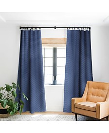 Deny Designs Camilla Foss Circles In Blue III Curtain