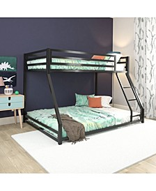 Mason Metal Twin/Full Bunk Bed