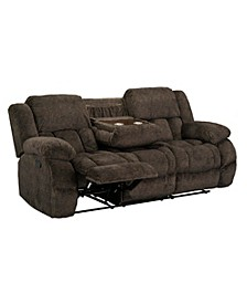 "Seymore 87"" Manual Motion Reclining Sofa"